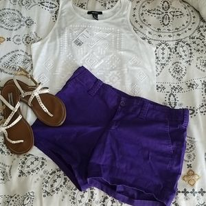 Bright Purple Shorts